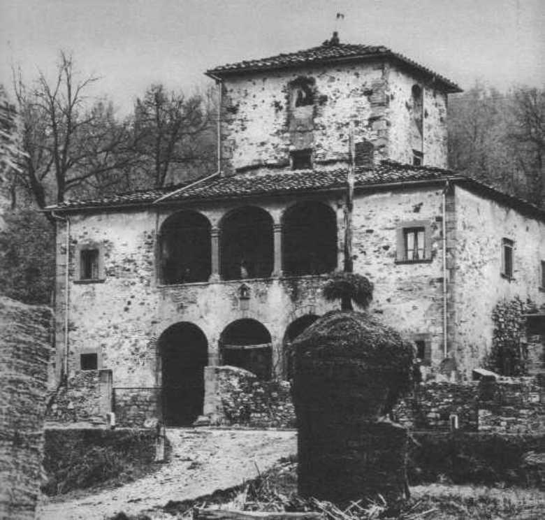 Casa rurale toscana for Disegni casa colonica